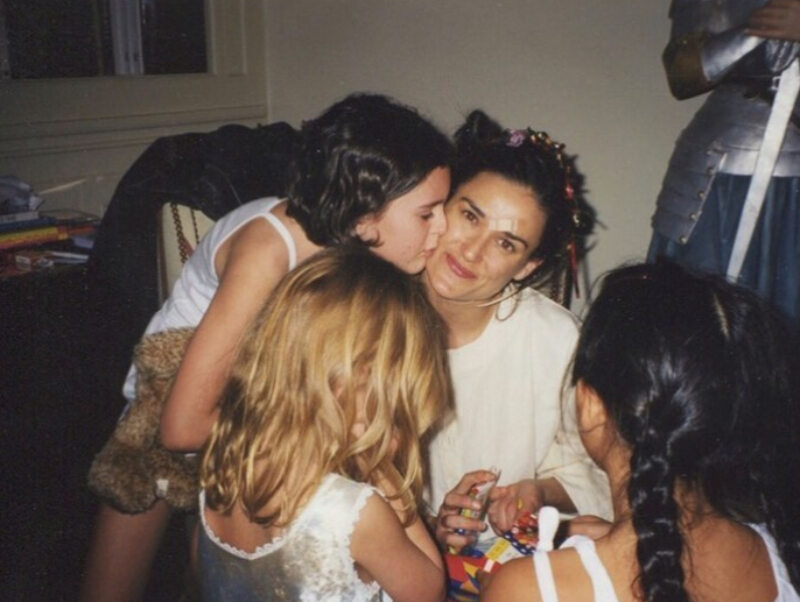 Demi Moore na zdjęciach zamieszczonych przez jej córkę Scout LaRue Willis