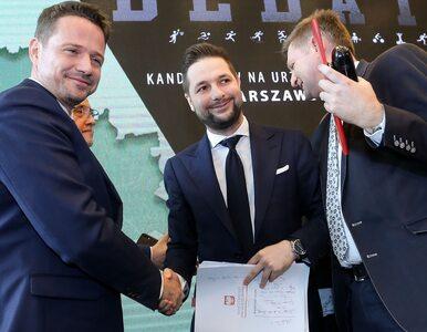 Kilkudziesięciogodzinny maraton Jakiego i Trzaskowskiego po Warszawie....