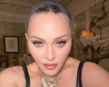 Odmieniona twarz Madonny