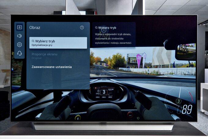 Telewizory LG OLED C1 iG1 świetnie sprawdzą się wgrach