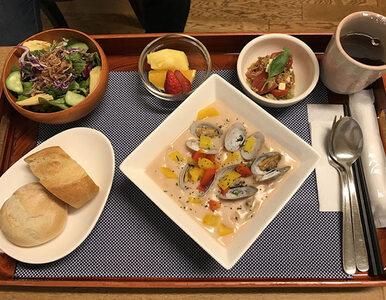 Tak wygląda szpitalne jedzenie w Japonii. Pacjentka była w szoku i...