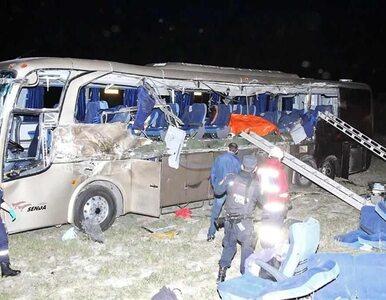 Karambol autobusu i ciężarówki, nie żyją dzieci