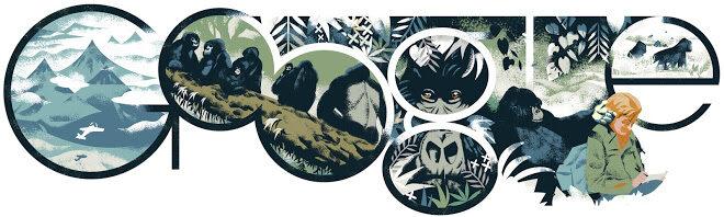 82. rocznica urodzin Dian Fossey