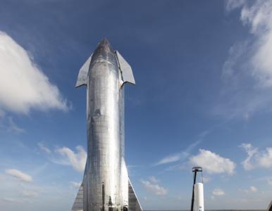 Elon Musk zaprezentował Starship Mk1. Oglądaj NA ŻYWO start statku