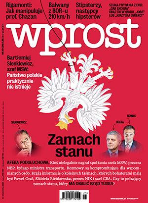 Okładka tygodnika Wprost nr 25/2014 (1633)