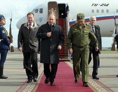 Putin chce zlikwidować broń chemiczną na całym świecie