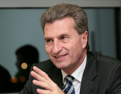 Szydło krytykuje Komisję Europejską. Oettinger odpowiada