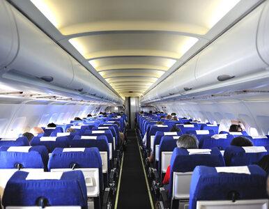Polak przyczyną awantury na pokładzie greckiego samolotu. Nie chciał...