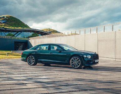 Ten Bentley jest na prąd. Nowy hybrydowy model Flying Spur Hybrid