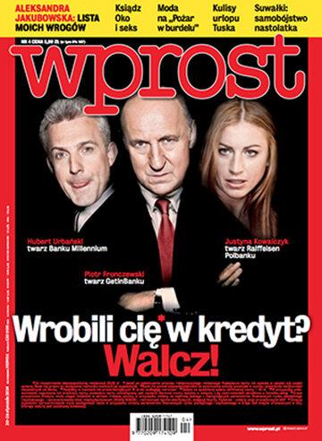 Okładka tygodnika Wprost nr 4/2014 (1612)