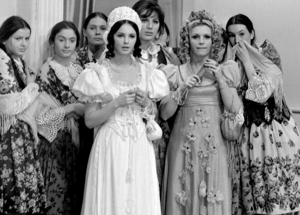 """Anna Dymna w serialu """"Janosik"""" (1973)"""
