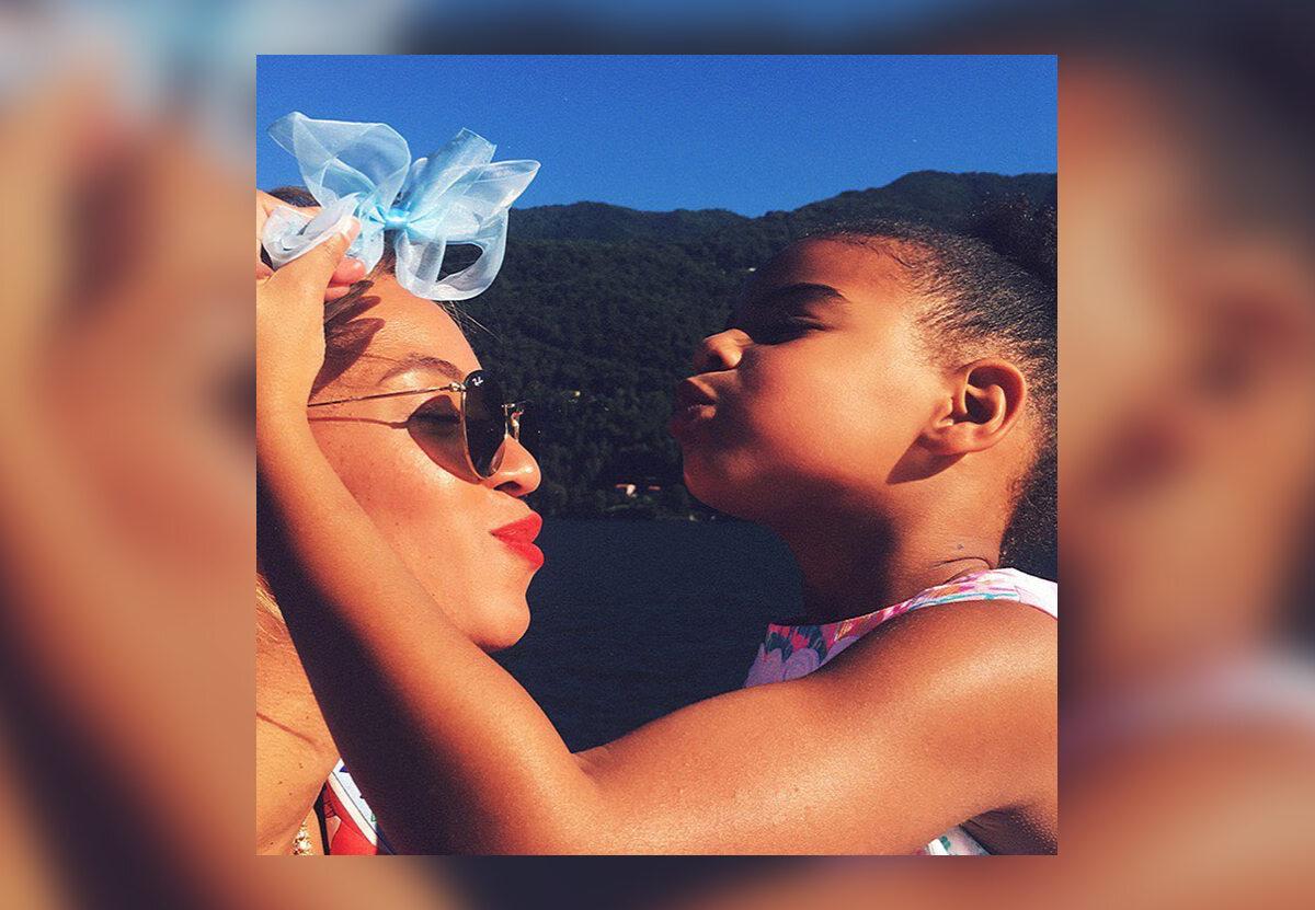 Beyonce z córką Blue Ivy Carter