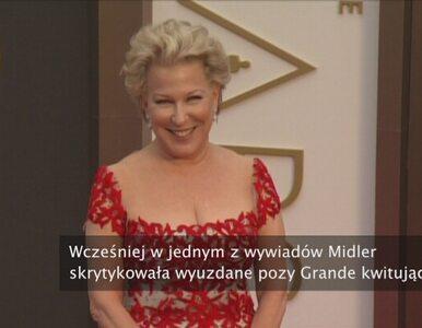 Gwiazdorskie wojny. Bette Midler obraża, a później przeprasza Arianę Grande