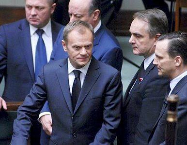 """""""Ministrowie Tuska nie chcą odspawać się od koryta"""""""