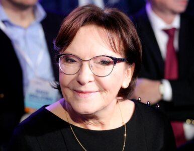 """Ewa Kopacz wróci do polskiej polityki? """"W Brukseli wygląda to bardziej..."""