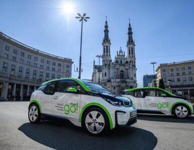 Koniec elektrycznych BMW na minuty na ulicach Warszawy