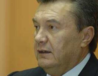 """Janukowycz został obywatelem Rosji """"za wierną służbę"""""""