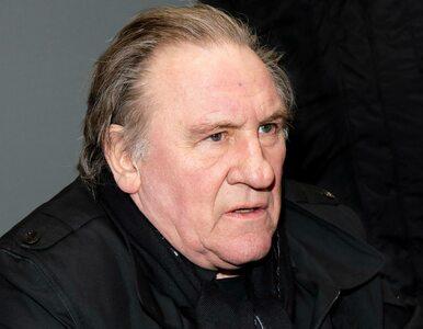 Gerard Depardieu oskarżony o gwałt. Aktor usłyszał zarzuty