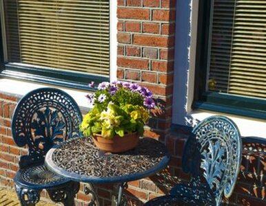 Odnawiamy stare, metalowe meble ogrodowe