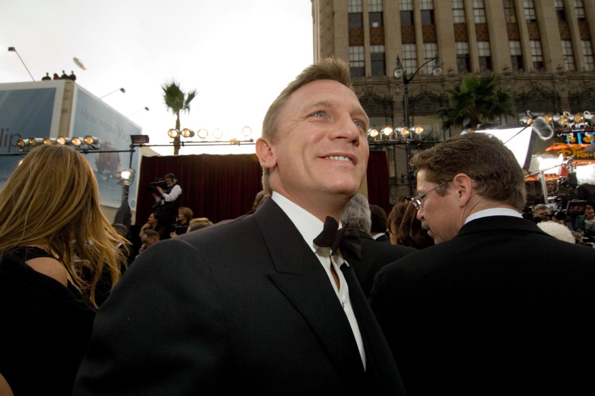 Daniel Craig podczas 79. ceremonii rozdania Oscarów w 2007 roku