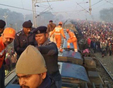 Katastrofa kolejowa w Indiach. Zabici i ranni