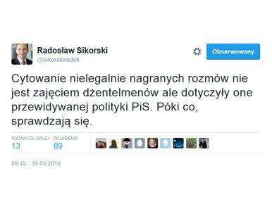 """Waszczykowski o """"murzyńskości"""". Sikorski odpowiada"""