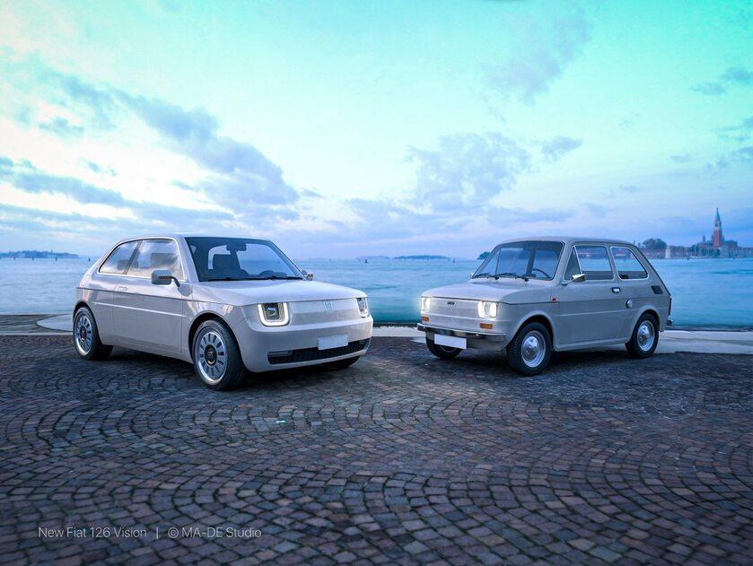 Fiat 126 jako wizja auta elektrycznego