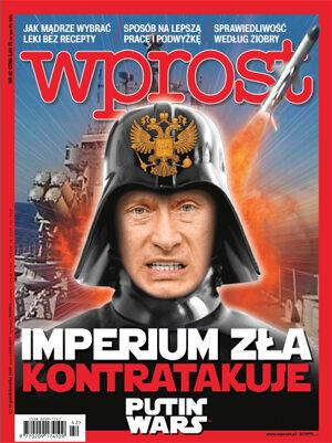 Okładka tygodnika Wprost nr 42/2015 (1701)