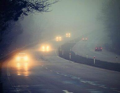 Gęste mgły i widoczność do 100 m. IMGW wydał ostrzeżenia