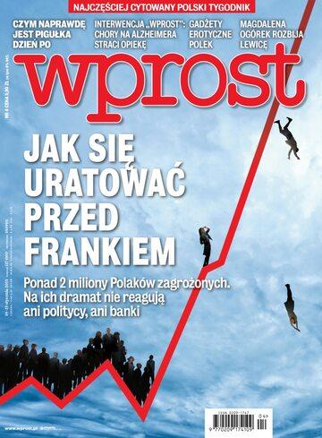 Okładka tygodnika Wprost nr 4/2015 (1663)