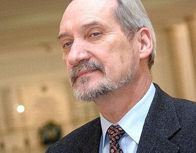 """Macierewicz donosi na prokuraturę. """"To były tajne informacje"""""""
