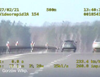 Zdecydował sąd, a nie policja. Wysoka grzywna za jazdę z prędkością 236...