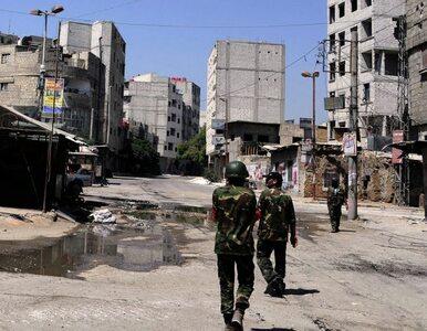 Asad chce dialogu. Ulice Damaszku spływają krwią