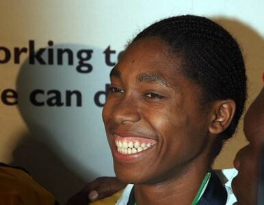 Kobieta, którą podejrzewano o bycie mężczyzną, chorążym kadry RPA w...
