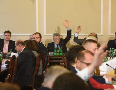 Komisja sprawiedliwości przyjęła projekt ustawy o SN. Ostre wymiany zdań...