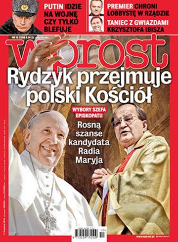 Okładka tygodnika Wprost nr 10/2014 (1618)