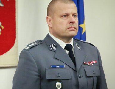 Śledztwo ws. byłego szefa policji zostało umorzone. Maj: Padłem ofiarą...