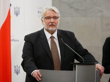 Szef MSZ o Saryusz-Wolskim: Na pewno nie pojedzie na Maltę na...