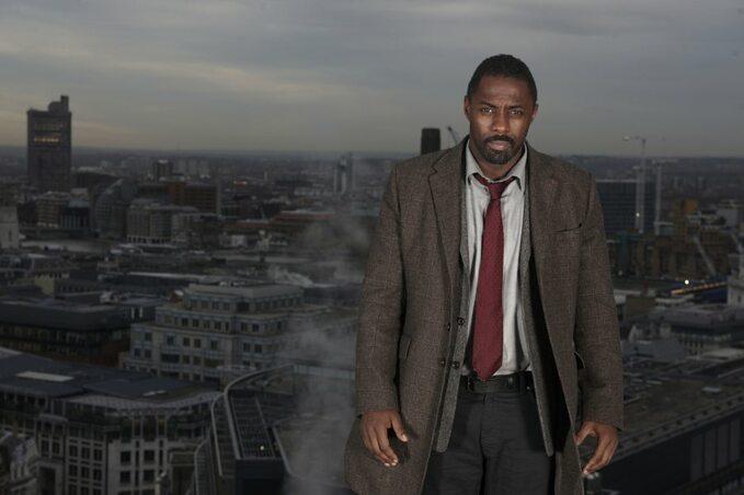 "Idris Elba wserialu ""Luther"""