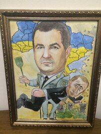 Prezent dla ukraińskiego szefa MON. Klapsy dla Putina