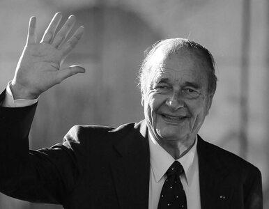 Jacques Chirac nie żyje. Były prezydent Francji miał 86 lat