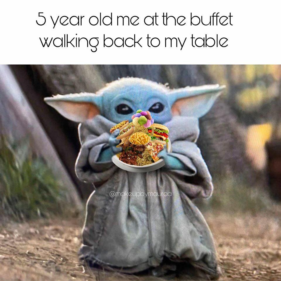 Baby Yoda na memie