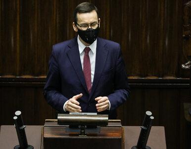 """Morawiecki o UE """"karzącej słabszych"""". Mówił o """"pałce propagandowej"""""""