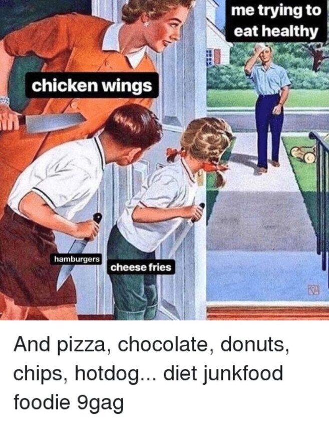 Mem dla tych, którzy są na diecie
