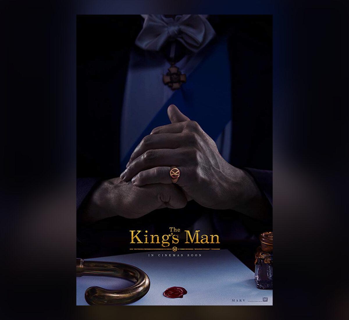 "Plakat filmu ""King's Man: Pierwsza misja"""