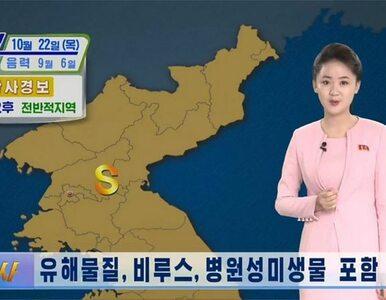 """Korea Północna ostrzega przed """"żółtym pyłem"""". """"Rozprzestrzenia..."""