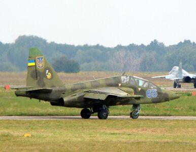 Separatyści zestrzelili ukraiński myśliwiec