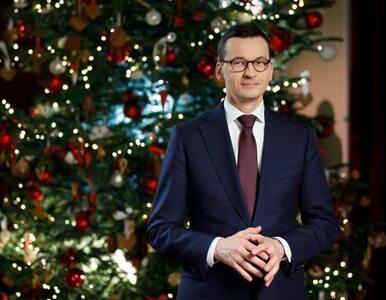 """Świąteczne życzenia od premiera Morawieckiego. """"Spełnienia marzeń o..."""