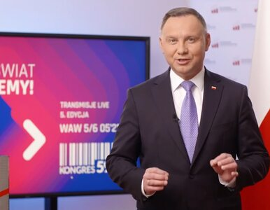 Andrzej Duda otworzył Kongres 590: Jestem przekonany, że zbliżamy się do...