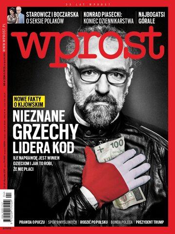 Okładka tygodnika Wprost nr 4/2017 (1771)